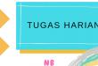 TUGAS HARIAN