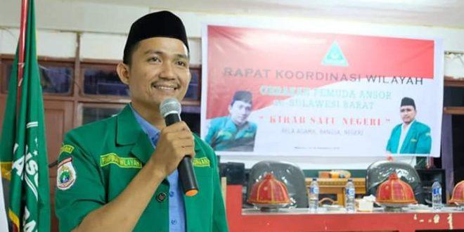 GP.Ansor Nilai Kapolda Membiarkan Gerakan Eks HTI Tumbuh di Sulbar