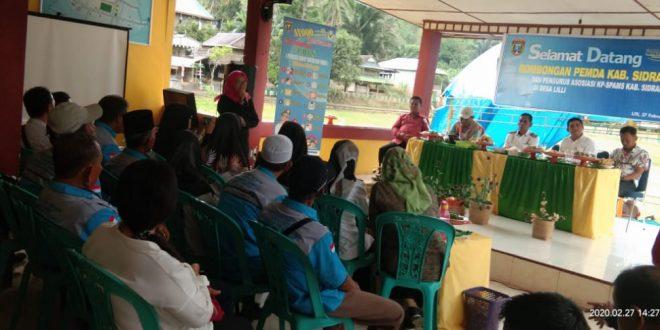 Desa Lilli Dapat Kunjungan Studi Pengembangan Wawasan Pamsimas Sidrap