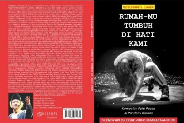 Buku Puisi 'Rumahmu Tumbuh di Hati Kami' Karya Sosiawan Leak Siap Masuk Sulbar