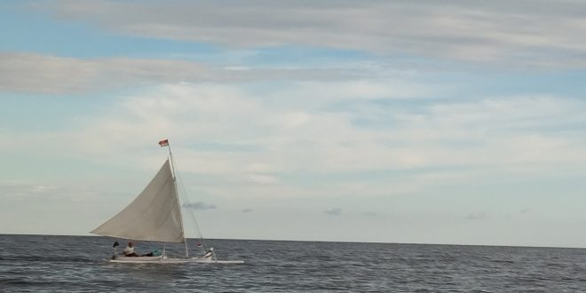 Mengapa Perahu Sandeq Dapat Melawan Arah Angin?